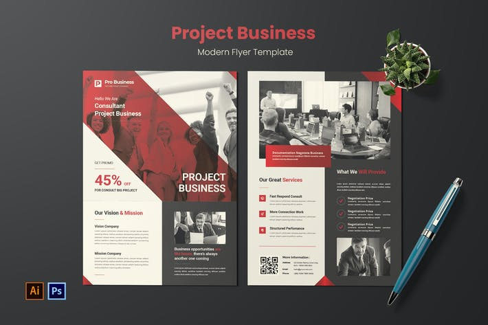 Thumbnail for Project Business Flyer