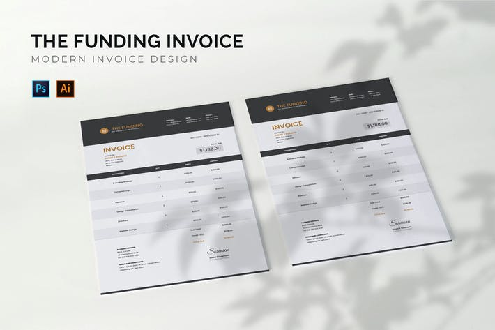 The Funding - Invoice Template