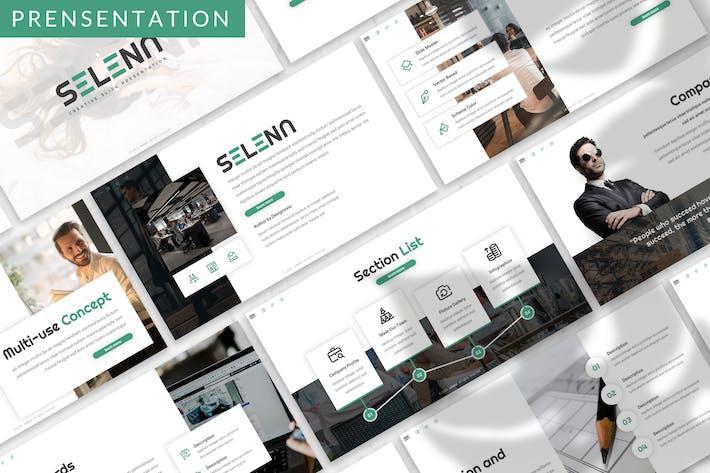 Thumbnail for Selena - Vorlage für moderne Agentur Prensentation