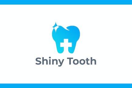 Shiny Tooth - Medical & Dentistry Logo
