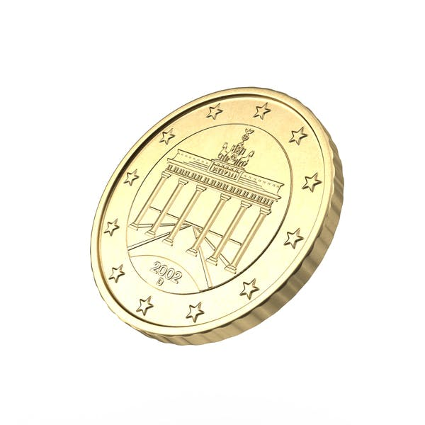 German Euro 50 Cent Coin
