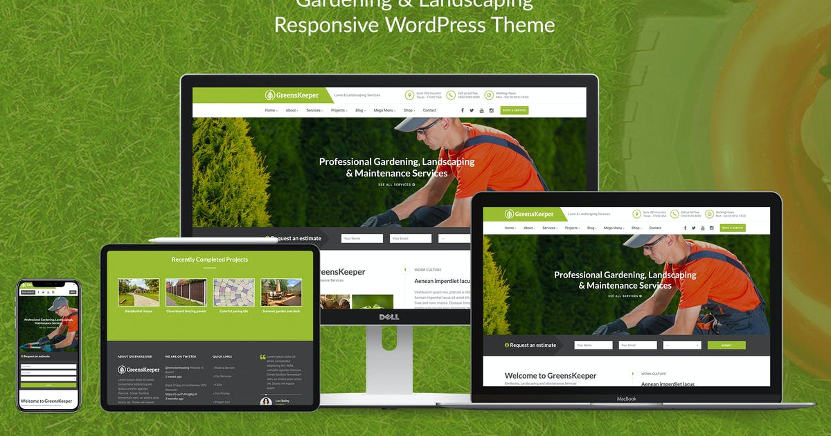 Download GreensKeeper - Gardening & Landscaping Theme by imithemes