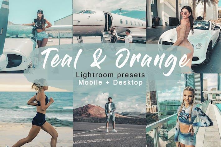 Thumbnail for Verde azulado y naranja | Ajustes preestablecidos de Lightroom Vol.1