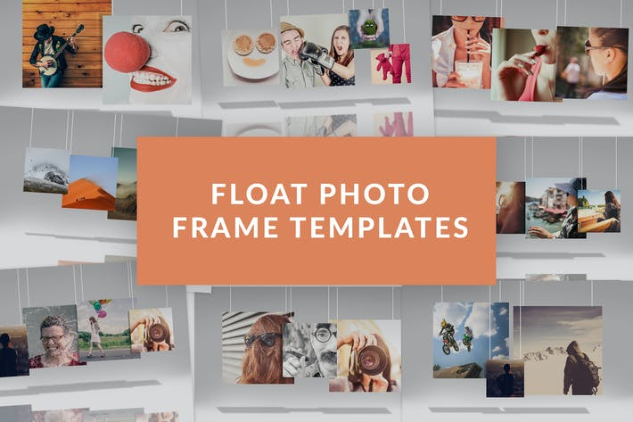 Thumbnail for Float Photo Frame Templates