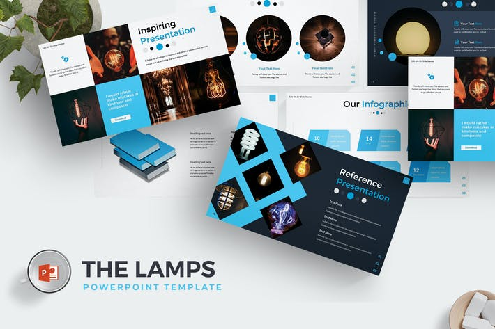 Thumbnail for The Lamps - Powerpoint Template