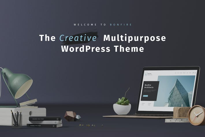 Thumbnail for Bonfire - Kreative Multipurpose WordPress Thema