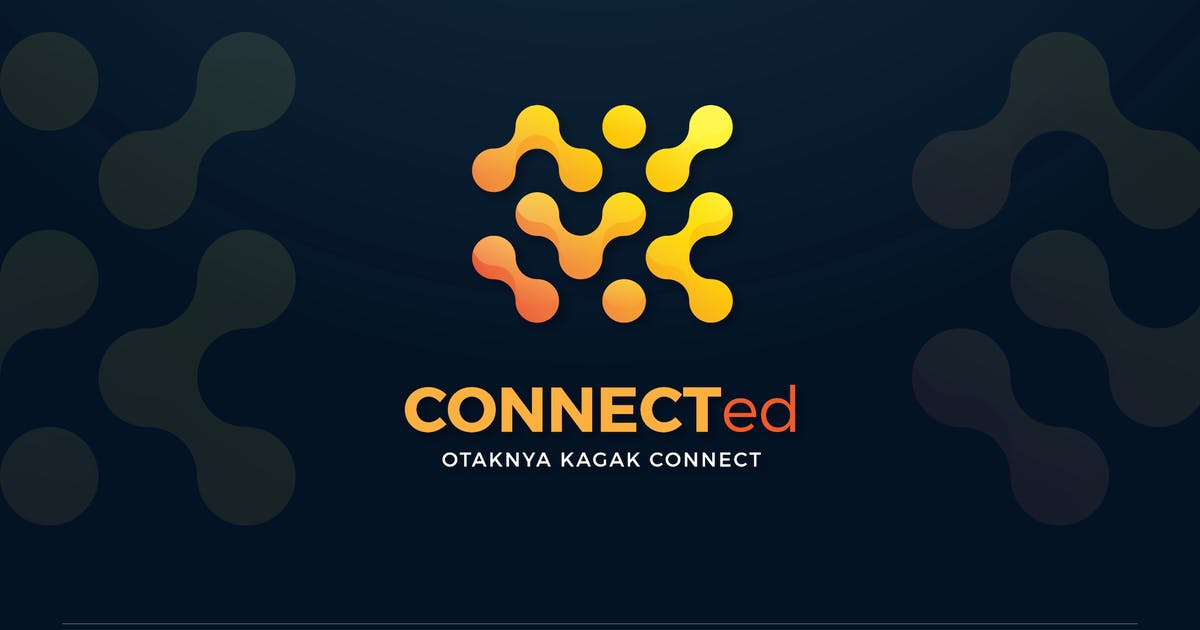 Download Connected Dots Technology Logo Template by SlideWerk