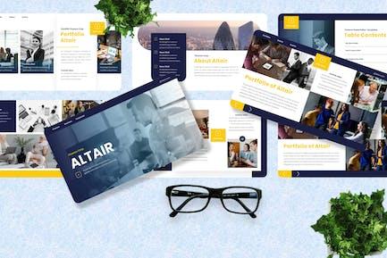Altair - Finance Googleslide Template