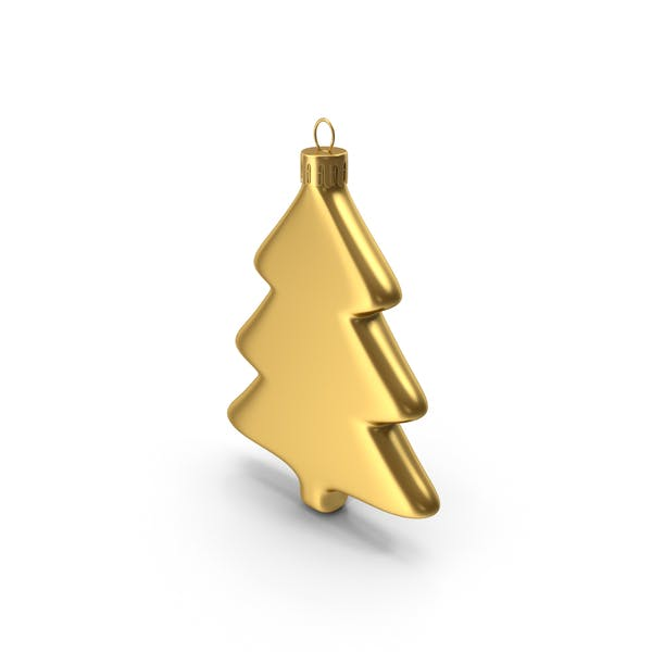 Thumbnail for Tree Ornament Gold
