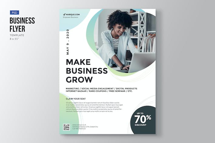 Cover Image For Elegant Business Flyer