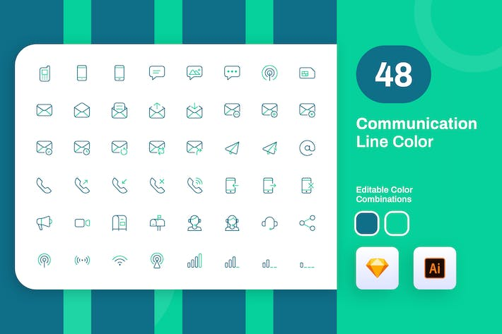 Thumbnail for Communication Line Color