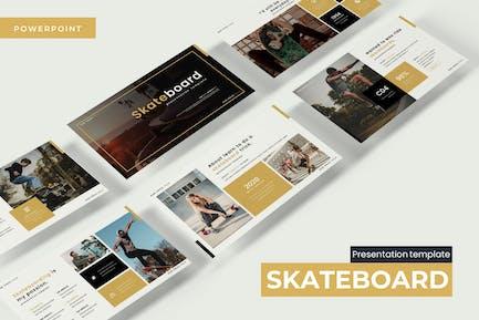 Skateboard - Powerpoint Template