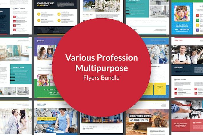 Flyers – Various Profession Multipurpose Bundle