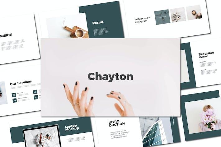 Thumbnail for Chayton - Keynote Template