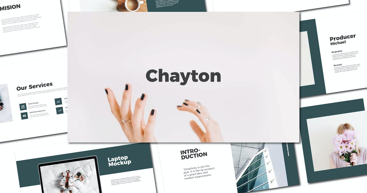 Download Chayton - Keynote Template by amarlettering