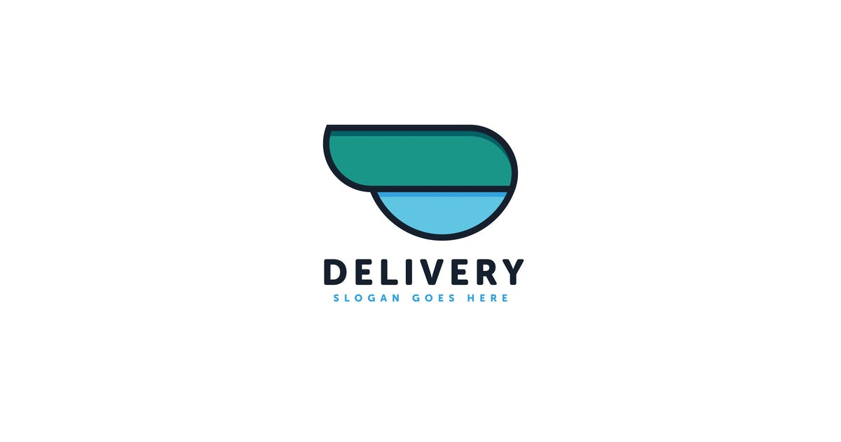 Download Delivery Logo Vector Template by Pixasquare
