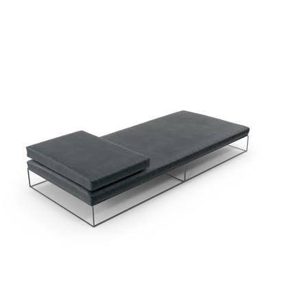 Flat Fabric Sofa