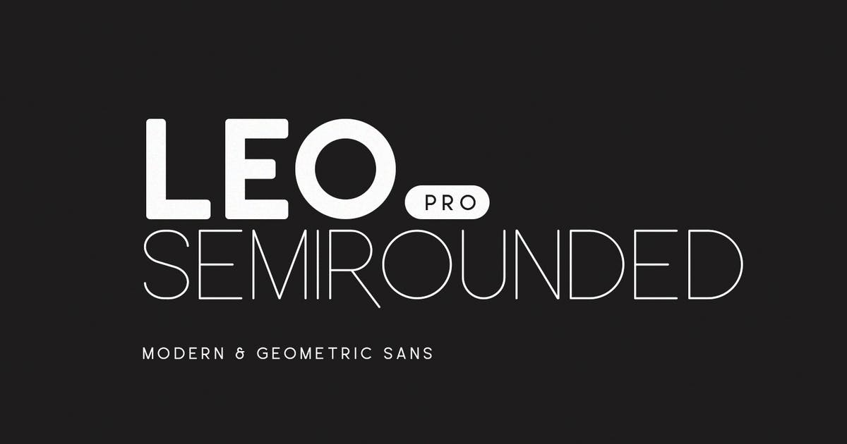 Download Leo SemiRounded Pro by factory738