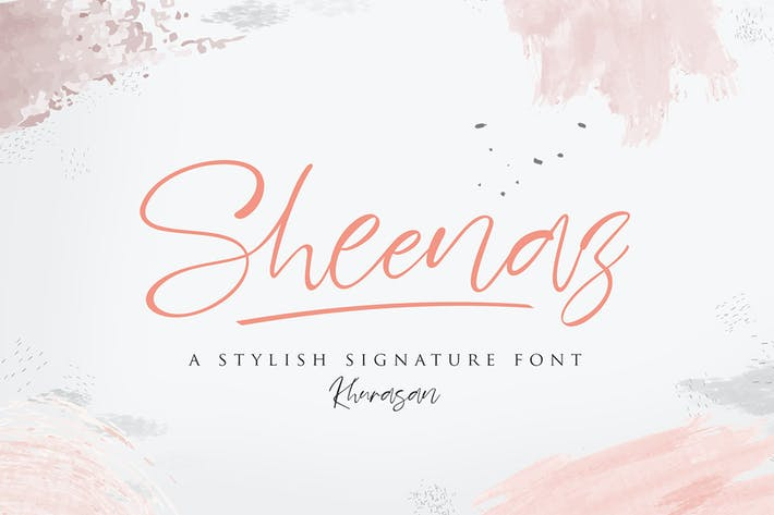 Thumbnail for Sheenaz Script