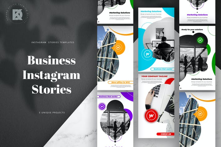 Thumbnail for Instagram Stories Business Pack