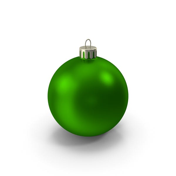 Cover Image for Green Christmas Ornament