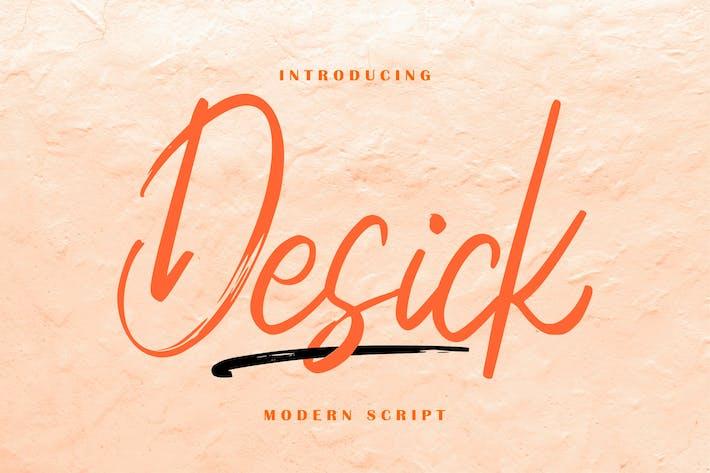 Thumbnail for Desick Modern Script