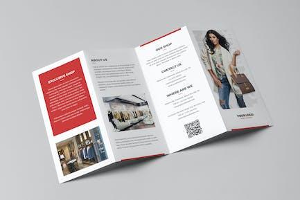 Brochure – Fashion Look Book 4-Fold