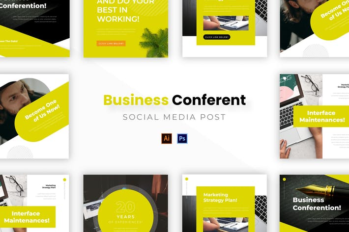Thumbnail for Business Conferention Socmed Post