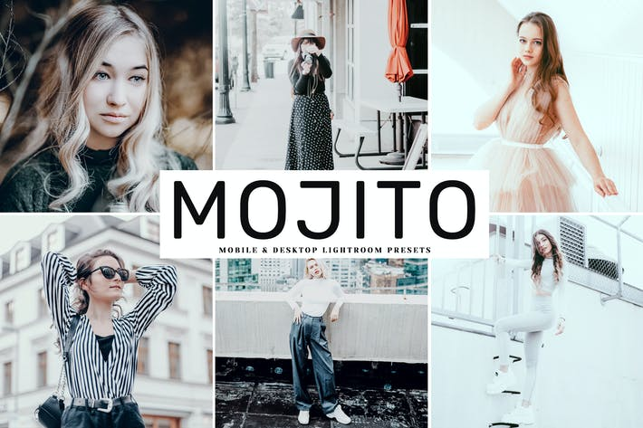 Thumbnail for Mojito Mobile & Desktop Lightroom Presets