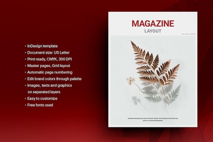 Thumbnail for Lifestyle Magazine Layout