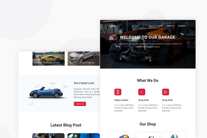 Thumbnail for Automotive - Email Newsletter