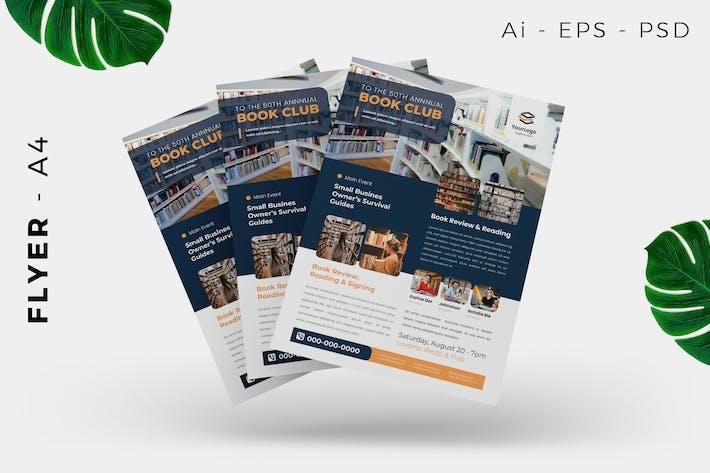 Book Launching Flyer Design