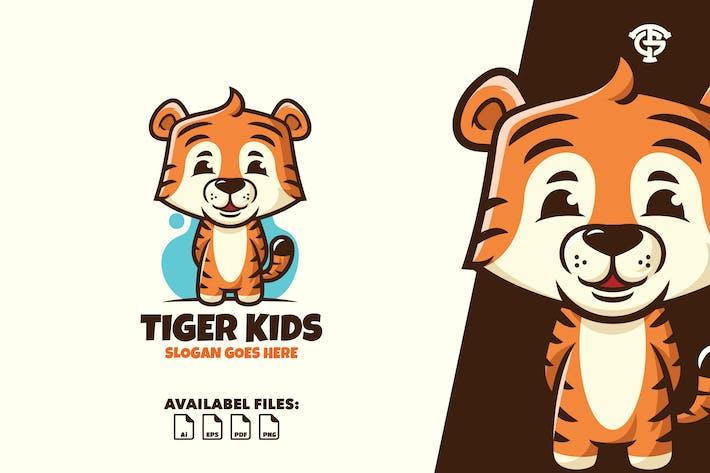 Tiger Kids - Logo Maskottchen