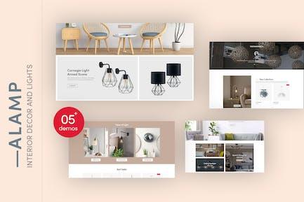 Alamp - Interior Decor and Lights Shopify Theme