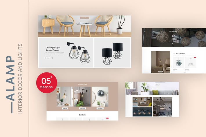 Thumbnail for Alamp - Interior Decor and Lights Shopify Theme