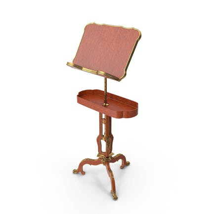 Baroque Music Note Stand