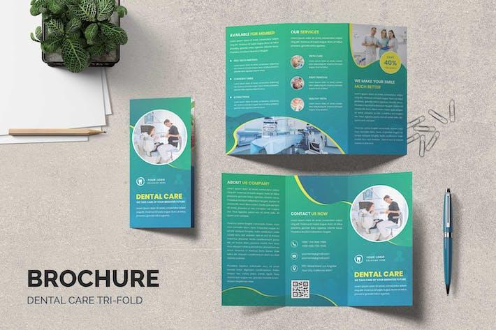 Thumbnail for Dental Clinic Trifold Brochure