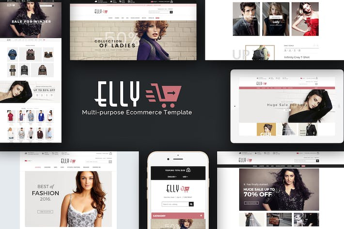 Thumbnail for Elly - Multipurpose Responsive Prestashop Theme