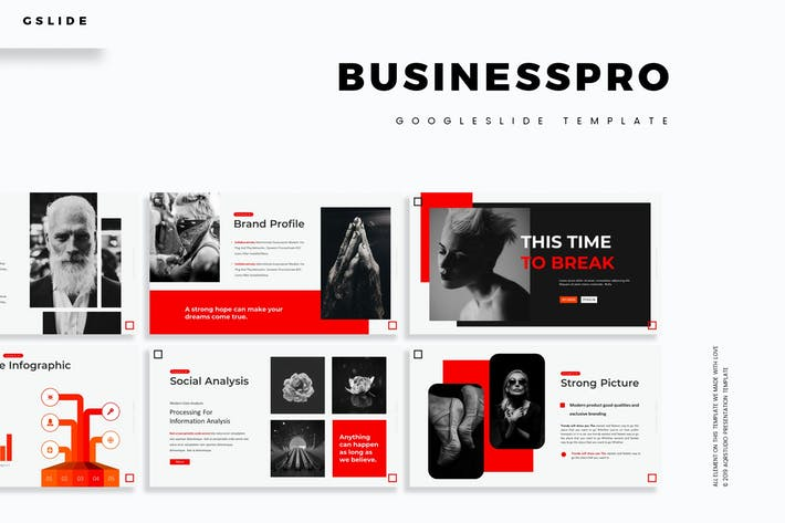 Thumbnail for Business Pro - Google Slides Template