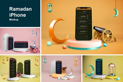 Ramadan iPhone Mockup