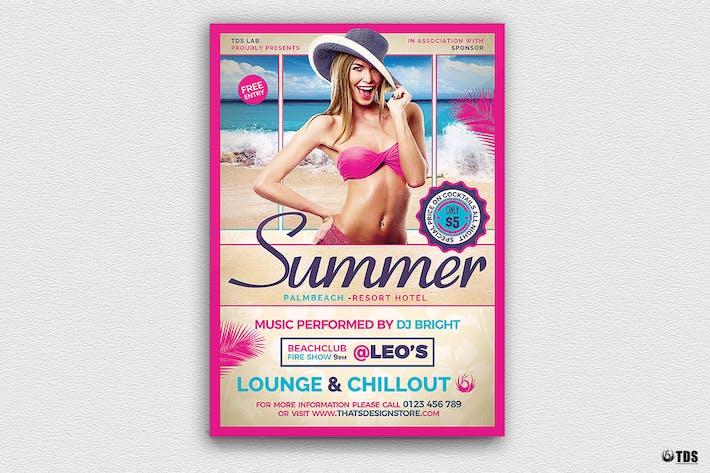 Thumbnail for Summer Beach Flyer Template V2