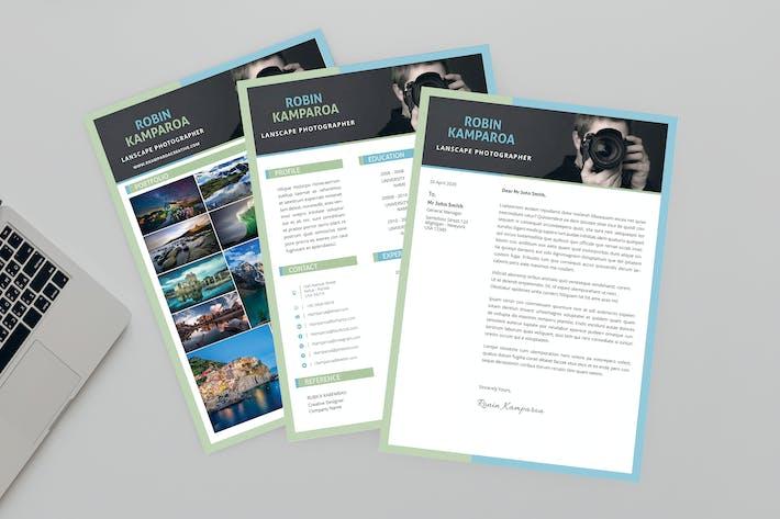 Thumbnail for Shining CV Resume Designer