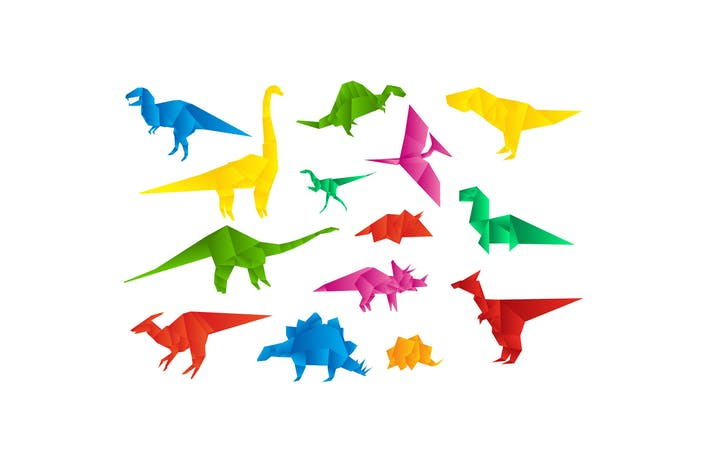 Thumbnail for Origami Dinosaurs Collection