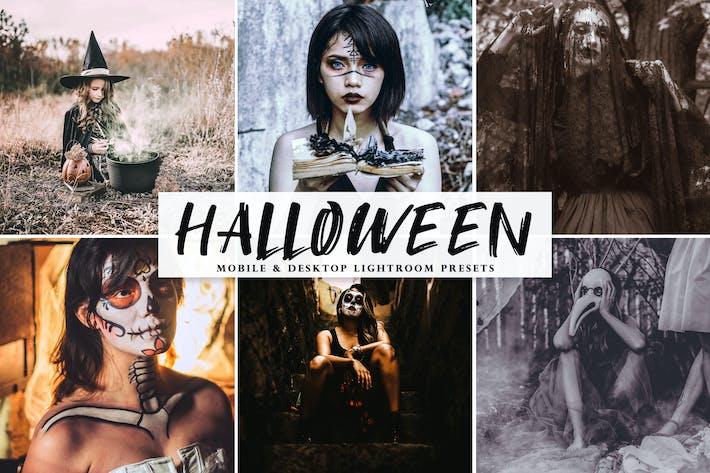 Thumbnail for Halloween 2019 Mobile & Desktop Lightroom Presets