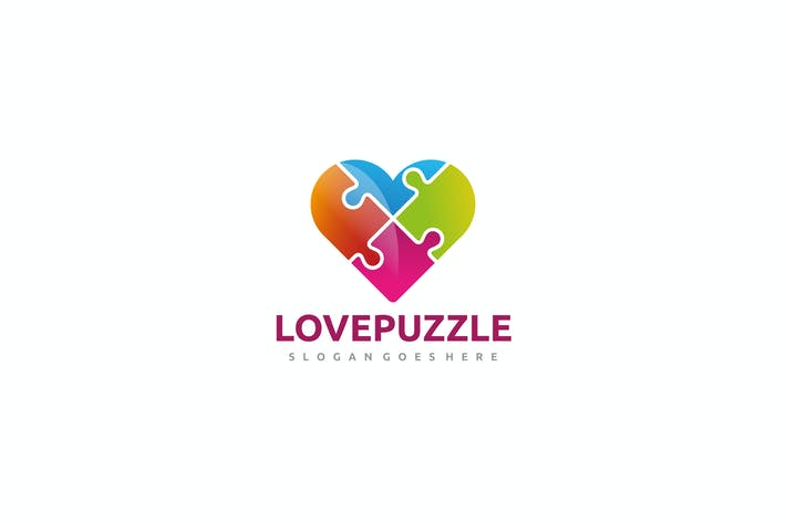 Thumbnail for Puzzle Heart Logo