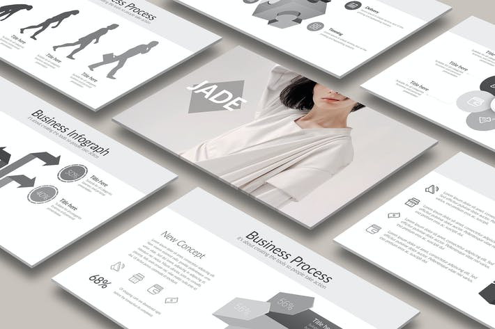 Thumbnail for JADE Powerpoint Template