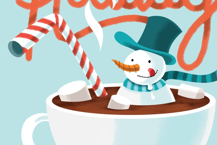 Thumbnail for Hot Chocolate Snowman