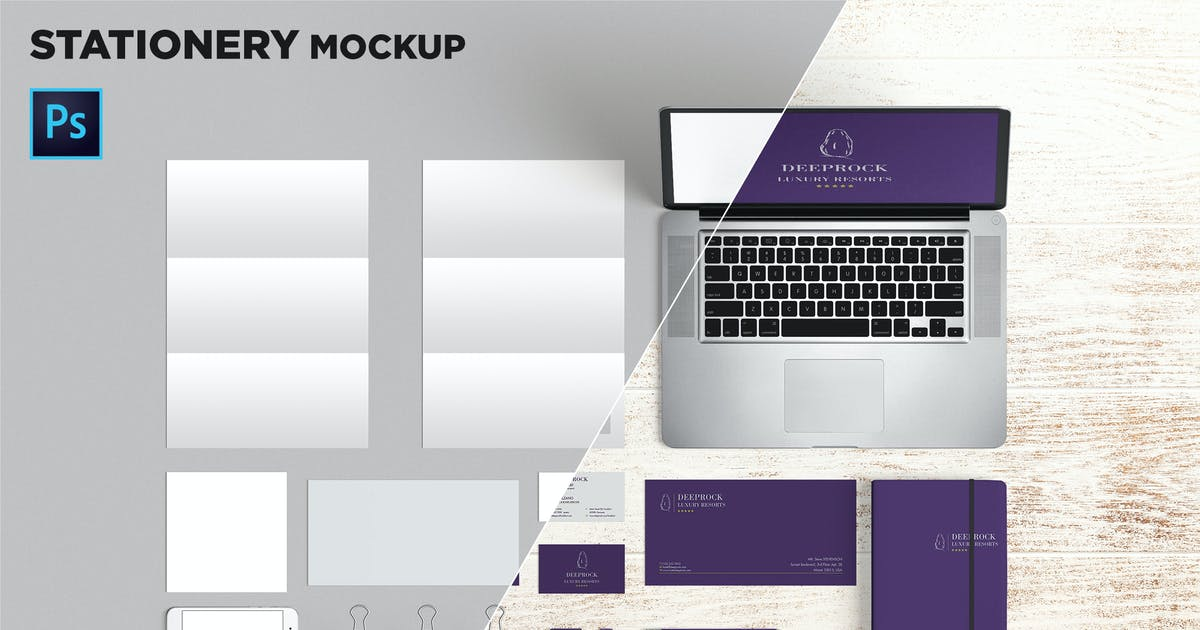 Download Brand Identity / Stationery Mockup 02 by andre28