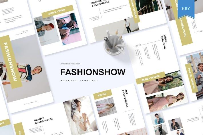 Thumbnail for Fashionshow | Keynote Template
