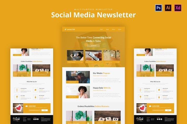 Thumbnail for Social Media Newsletter